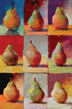 In this free demo, Robert Burridge shows readers some acrylic painting techniques with fruit painting, using shapes, light, and color for a good practice session.