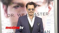 Johnny Depp TRANSCENDENCE Los Angeles Premiere ARRIVALS #DrWillCaster