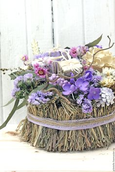 Купить Весенняя композиция Сирень - сиреневый, стиль прованс, детали интерьера, декор дома, весна