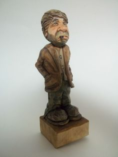 Hobo Bart - carved for Bart Wilson