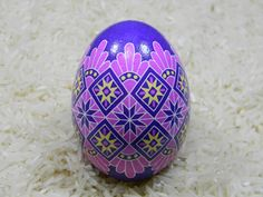 A personal favorite from my Etsy shop https://www.etsy.com/listing/270725803/pink-purple-lace-design-ukrainian-egg