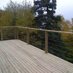 Deck Idea Porch Railing | Porch deck railing Design Ideas, Pictures, Remodel and Decor