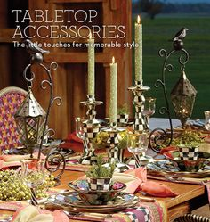 MacKenzie-Childs - Tabletop Accessories