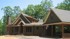 Smokey Mountain Cottage House Plan | Craftsman Style Home Plan