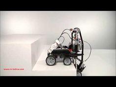 LEGO MINDSTORMS Education EV3: Subidor escaleras con recursos adicionales en RO-BOTICA - YouTube
