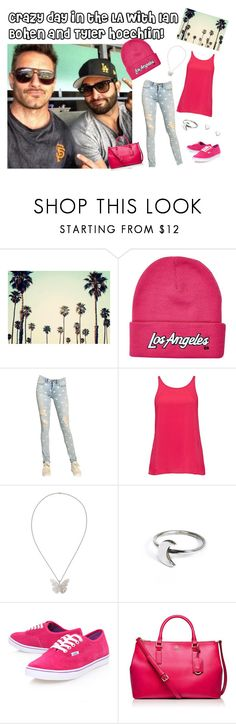 """""""Crazy day in the LA with Ian Bohen and Tyler Hoechlin!"""" by becky8-93 ❤ liked on Polyvore featuring Retrò, River Island, Marc by Marc Jacobs, Forever New, Alexander McQueen, Holly Ryan, Vans, Tory Burch and Fat Face"""