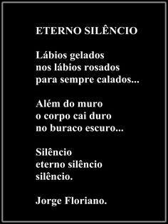 JORGE FLORIANO: ETERNO SILÊNCIO