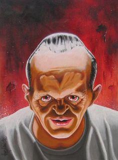 Anthony Hopkins - Dr. Hannibal Lecter