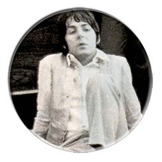 ONLY ONE Beatles Paul McCartney 2-1/4 Inch Button