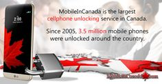Need to unlock your cell?   www.MobileInCanada.com is the largest cellphone unlocking service in Canada. Since 2005, 3.5 million mobile phones were unlocked around the country. Security/Reliable/ Affordable/Fast/For life. For a free Sim card, visit www.Distribu-Sim.ca #Canada #unlock #Mobile #phone #cellphone #unlocked #Security  #Reliable #Affordable #Fast #free #Sim