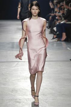 pink Dress Christopher Kane fall 2014