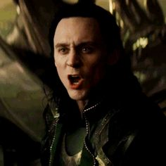 This was such a sad scene!!! Loki was so mad that he wasn't there to protect his mother and somehow Thor couldn't see it! If you look closely, he has tears in his eyes. I really hate that Loki didn't tell anyone that he was tortured and forced to conquer Midgard. That might have changed Odin's punishment!! But, I guess no one would believe him..I do!!!