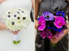 Purple and Blue Jewel-Toned Florida Wedding
