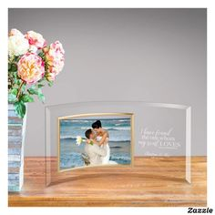 Personalized Glass Photo Frame - Song Of Solomon