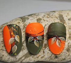Fall Nail Art Designs, Diy Nail Designs, Love Nails, Pretty Nails, Nail Art Wheel, Secret Nails, Cute Nails For Fall, October Nails, Super Cute Nails