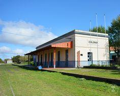 Antigua estacion de tren en Colonia del Sacramento, Uruguay