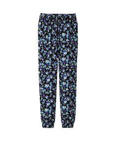 Uniqlo printed drape pants