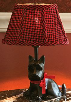 Scottie Dog Lamp...