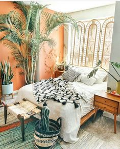 29 Modern Bohemian Bedroom Inspiration - It had become their early century when the Bohemian Design started. Bed Design, Dream Room, Bedroom Makeover, Home Bedroom, Gorgeous Bedrooms, Bedroom Design, Modern Bohemian Bedroom, Home Decor, Bohemian Bedroom Design