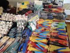 Tools & Supplies!? We got 'em! Open today until 5pm! At the #NYC #WholeBeadShow