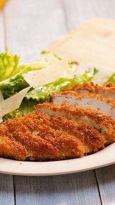 If you *have* to eat salad, eat this Crouton Crusted Chicken Caesar. Cooking Recipes, Healthy Recipes, Healthy Cake, Oven Cooking, Cooking Utensils, Cooking Brisket, Crowd Recipes, Cooking Beef, Camping Cooking