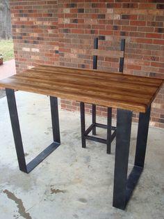 Flat Metal Table Legs