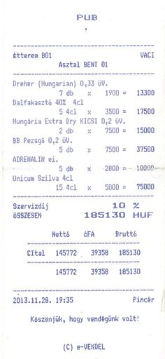 Unfortunately a common story from the daily life in #Budapest getting giant bills after being invited into bars by cute ladies!