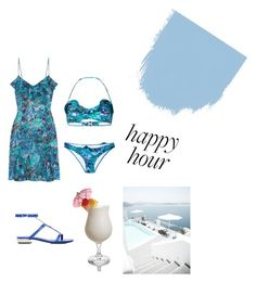"""La Perla Petal Storm Collection 🌊🌸"" by ilaria15 on Polyvore featuring moda, La Perla e Disney"