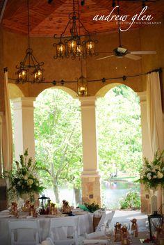 Gervasi Wedding Pavilion shot by Andrew Glen Custom Photography!