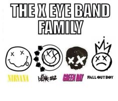 Interesting observation...I like at least one song from each of these groups, mostly Green Day.