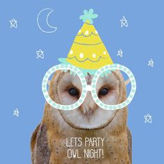 Happy Friyay all, I wanted to share something different i have been working on, combining 2 of my greatest loves: illustartion & animal puns💕 #illustration #doodle #design #freelancelife #wip #workingprogress #animal #pun #animalpun #joke #cute #funny #owl #bird #party #partyhat #glasses #friday #friyay #tgif #weekend #owls #partyanimal