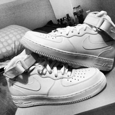 Nike air force ones....