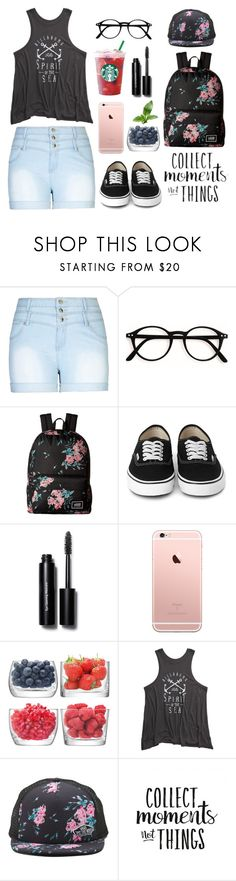 """""""Happy Tag 😊"""" by lillyd26 ❤ liked on Polyvore featuring City Chic, Vans, Bobbi Brown Cosmetics, LSA International, Billabong and plus size clothing"""