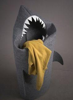 Shark Laundry Basket - @Phil Fishbein Dennison, huh?