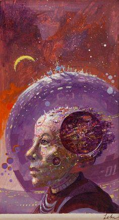 paul lehr - the wonderful world of robert sheckley, 1979