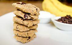 Cucina Libera: Banana Cacao Chip Cookies... or Cookie Dough Bites (High Raw & Nut-Free!)