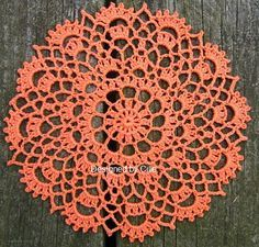 Crowns Surround Doily: free pattern