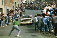Audi Sport Quattro S1 - Walter Röhrl - San Remo 1985