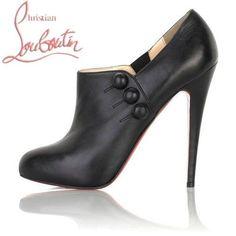 2a6362a280922c Bottes de Christian Louboutin Astraqueen Noir brillant Louboutin Pas Cher,  Louboutin Shoes, Christian Louboutin