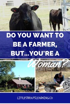 "Do you dream of farming but you're a woman? You can do it, Girl POWER! Check out ""Soil Sisters""  to see what you need to know to get started. Farm dreams or not, it's a great read. I loved learning from it."