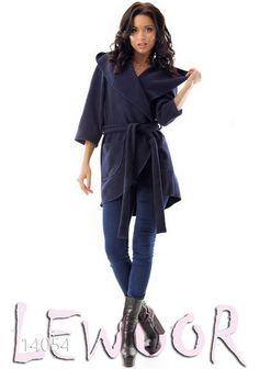 Пальто из кашемира с карманами без подкладки - купить оптом и в розницу, интернет-магазин женской одежды lewoor.com