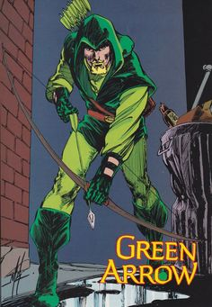 "wondrousyears: ""Green Arrow by Mike Grell from DC Who's Who """