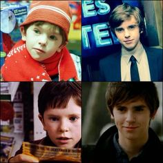 puberty done waaay right! Favorite Person, Favorite Tv Shows, The Good Doctor Abc, Freddie Highmore Bates Motel, Doctor Shows, Book Tv, Attractive People, British Actors, Cool