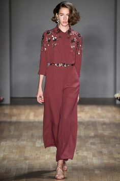 Pantone's predicted top 10 women's colours for spring 2015 - marsala