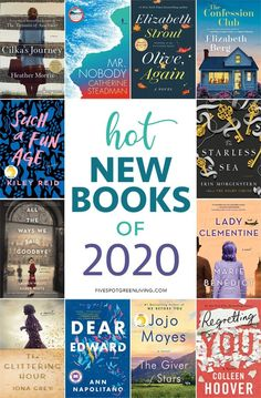 Here are some amazingly hot new books for 2020 that will help get you through the frosty and chilly later winter days and nights. Looking for some fun new fiction books to read then this list is for you! to read 15 Hot New Books of 2020 Fiction Books To Read, Best Books To Read, I Love Books, Books To Read For Women, Book List Must Read, Feel Good Books, Good New Books, Historical Fiction Books, Fiction Novels