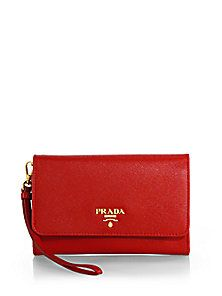 Prada - Saffiano Phone Wallet with Strap Prada Wallet, Prada Saffiano, Phone Wallet, Best Sellers, Handbags, Purses, My Style, Accessories, Totes