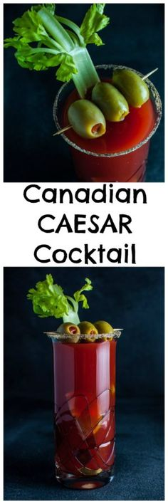 Canada's caesar cocktail is a delicious blend of vodka, Clamato juice, Worcestershire sauce, lime, and Tabasco sauce. Like bloody marys? You might want to try this!