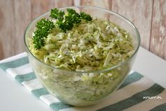 Surówka sezonowa Patrycja Guacamole, Potato Salad, Cabbage, Potatoes, Vegetables, Ethnic Recipes, Food, Potato, Essen