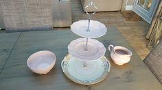 Vintage Cake Stands, Tea Sets Vintage, Tiered Cakes