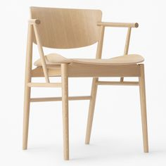 """Japanese studio Nendo used """"puzzle-like"""" joinery when designing this all-wooden chair for Fritz Hansen, which will launch at this year's Milan design week."""
